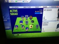 FIFA 18 FUT Account with 900k and Prime Icons