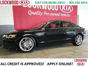 2014 Audi A6 3.0 Progressiv - LEATHER, SUNROOF, NAVI