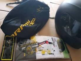 Motorbike scorpion helmet (small)