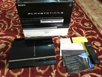 PlayStation 3 (60GB) console, comes with the box and an 2X original dualshock controller & Fifa 15.