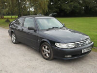 1998 SAAB 9-3 S 2.0, MOT OCTOBER 2017, ONLY 2 OWNERS, ONLY £395