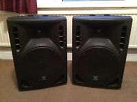 S&T CD 12P - PA Speaker System with stands (Great Condition)