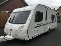2010 SWIFT CHALLENGER 570. 4 BERTH. FIXED DOUBLE BED AND LARGE WASHROOM. FULL AWNING.