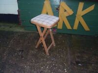 Folding stool Delivery Available