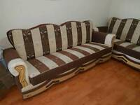 Settee sofa bed 2 x3seater + 2 seater