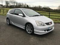 Nice original 2005 Honda Civic Type R 2.0 I -VTEC, trade in considered, credit cards accepted