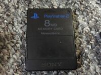 PS1/PS2 8MB Memory Card *with completed game save data*