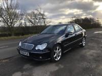2006 (06) Mercedes Benz C180 Kompressor, Sport, 4DR, Auto, Leather.