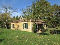 SW FRANCE- 2 bed/2 bath stone cottage + 1/2 acre (Use of Pool) S. Bordeaux, Bas Armagnac wine area.