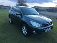 07 REG TOYOTA RAV 4 2.2 D-4D XT-R 5DR-1 OWNER FROM NEW-3 KEYS-GREAT LOOKING 4X4-WELL MAINTAINED