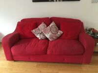 3 two seater and 1 single sofa in excellent condition