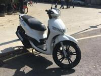 2017 PEUGEOT TWEET 125CC SCOOTER WHITE *** AMAZING DEAL! MUST GO! ***