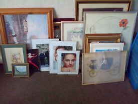 A Large Selection of Pictures and Frames