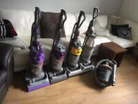 Dyson vacuums, Hoover