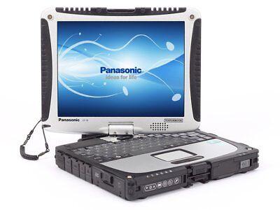 Panasonic ToughBook  CF-19 Core i5 8GB 500GB Waterproof Convertible  Win 7 Pro