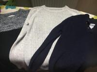 Boys knitwear age 8
