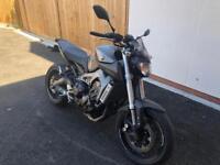 Yamaha MT09 MT-09 2013 Grey