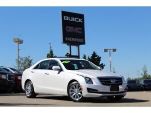 2018 Cadillac ATS Luxury AWD| Sun| Nav| Heat Leath/Wheel| Rem St