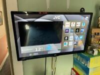"Jvc smart 24"" whit wall braket"