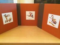 The complete Calvin and Hobbes book (one two and three )