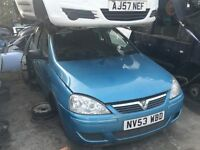 VAUXHALL CORSA DESIGN 16V 2004- FOR PARTS ONLY