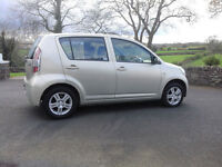 07 Daihatsu Sirion 1.0 SE 5 Door **£30 per year tax**