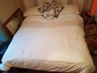 Super Kingsize bed for sale.