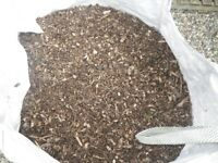 NORWICH, NORFOLK: WOOD CHIP, BARK MULCH FOR MULTIPLE USE