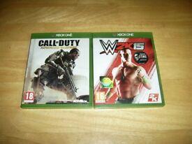 Xbox One - Call of Duty Advanced Warfare & WWE 2K15