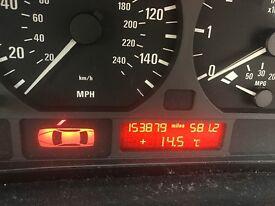 URGENT SALE!!! BMW 316 compact 2002 black