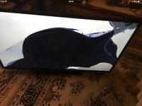 """Seilki tv 55"""" spare and repair screen cracked without remote £20"""