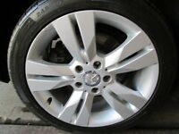 """GENUINE MERCEDES C CLASS 17""""ALLOYS WITH TYRES"""