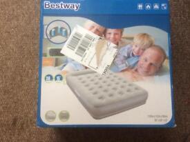 Bestway inflatable double mattress