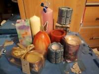 JOB LOT religious candles new and used