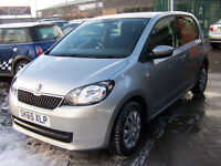 NEARLY NEW 2015 CITIGO AUTOMATIC LOW LOW MILAGE 5800 MANUFACTURERS WARRANTY EXTRAS ONLY £6495