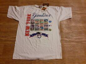 New York Yankees baseball shirt still tagged