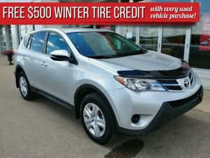 2015 Toyota RAV4 AWD LE **JUST REDUCED to $19900!**