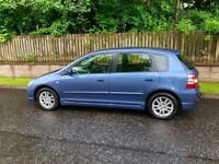 ( 2005 ) Honda Civic SE 1.6, Just 67000 Miles, Long MOT & 12 Stamps In Service Book