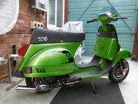 VESPA T5 mk 1. uk registered not import 1989