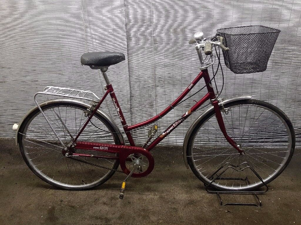 "Classic ladies town bike ELSWICK Frame 21"" BIG BIKE!"