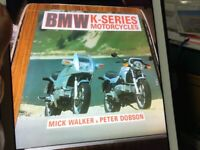 BMW K series motorcycles written & illustrated by Mick Walker & Peter Dobson