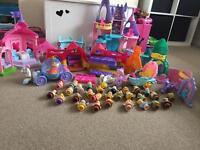 Disney Princess Little People Whole Set