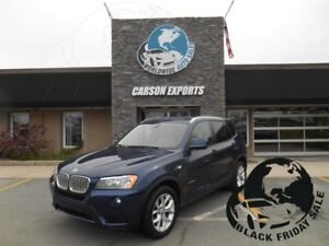 2013 BMW X3 xDrive28i! LOOK PANO ROOF! $173.00 BI-WEEKLY+TAX!