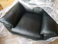 Brand new leather electric recliner