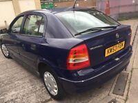 Vauxhall Astra 1.6 16V Blue 5-dr 2004 Full Service History Long MOT £495