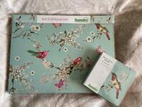 Beautiful Birds Dunelm Placemats and Coasters