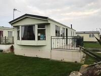 Great static caravan**3 Bedroom**8 Berth***2017 site fees and brand new 8x6 UPVC Decking included!