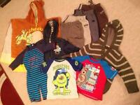 Boys 2-3 yrs bundle of clothes 10 items