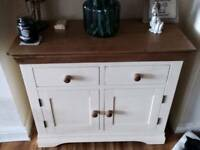 Country cream and oak Sideboard
