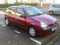 2002 Renault Clio 1.4 Automatic long MOT low miles - P/X, trade ins, swaps welcome!
